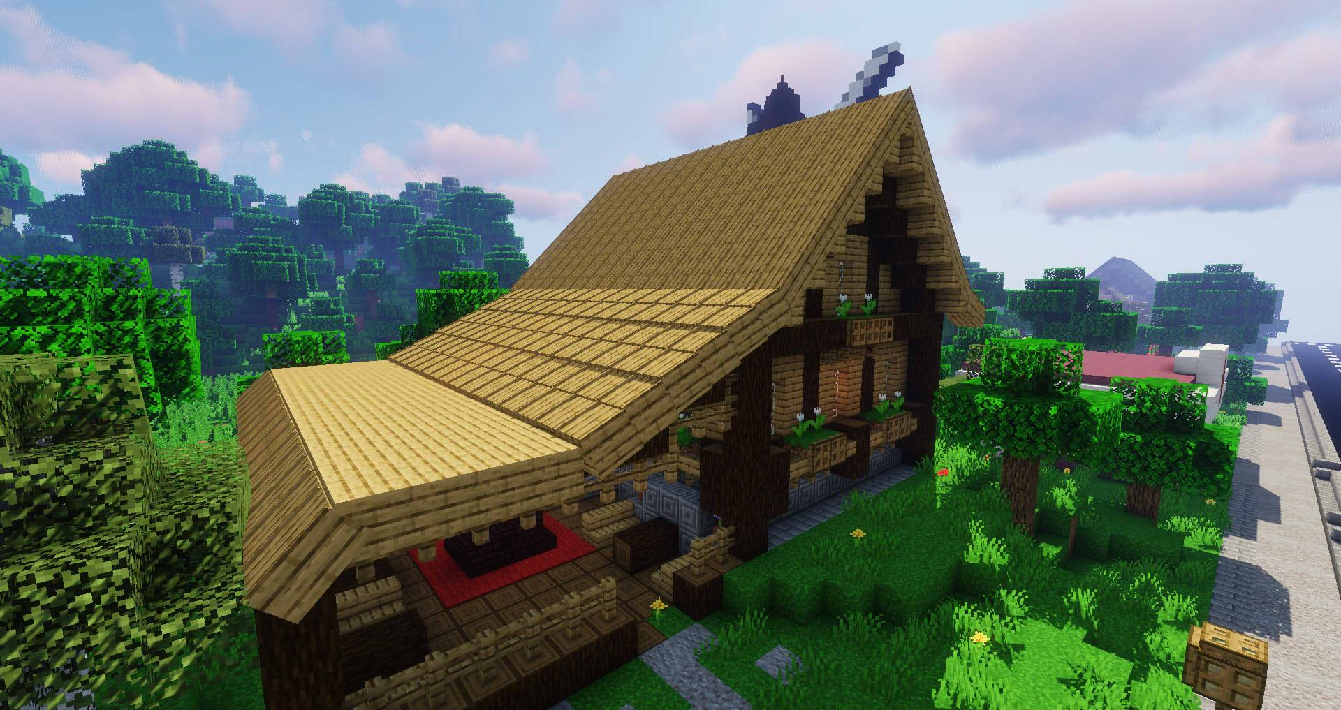Macaw_s Roofs mod for minecraft 24