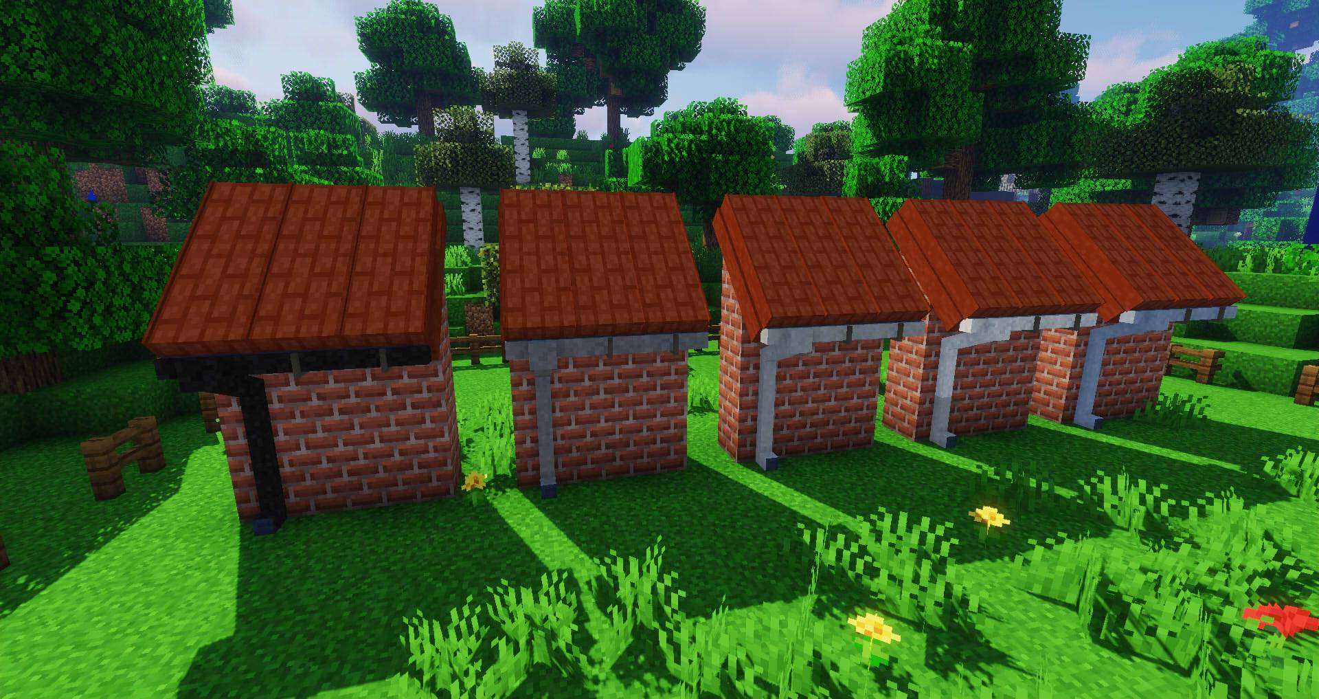 Macaw_s Roofs mod for minecraft 26