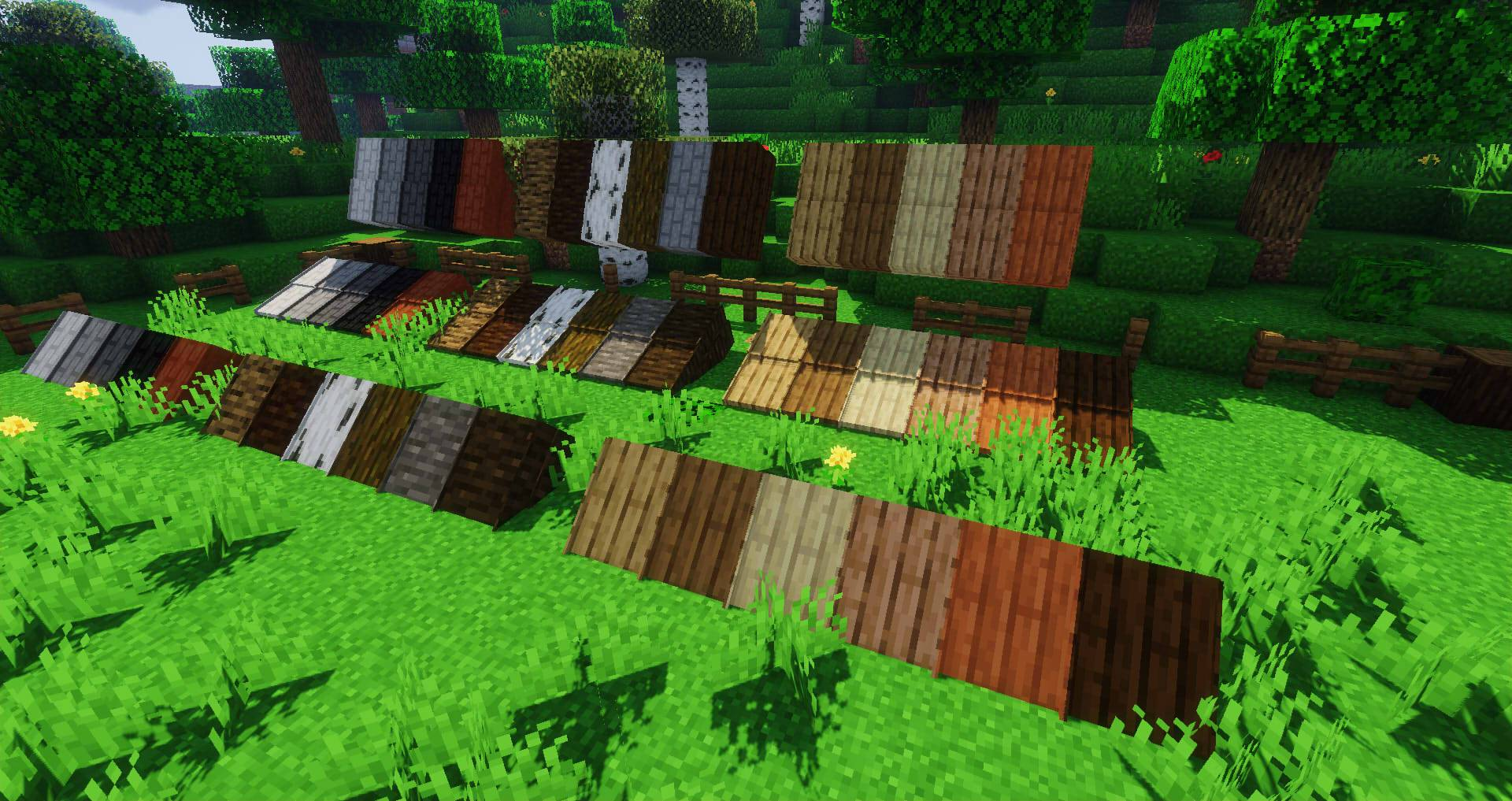 Macaw_s Roofs mod for minecraft 27