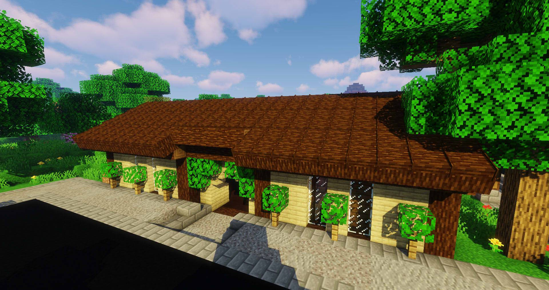 Macaw_s Roofs mod for minecraft 28