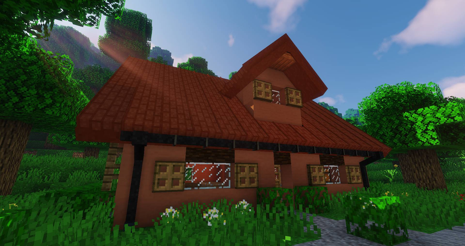 Macaw_s Roofs mod for minecraft 29