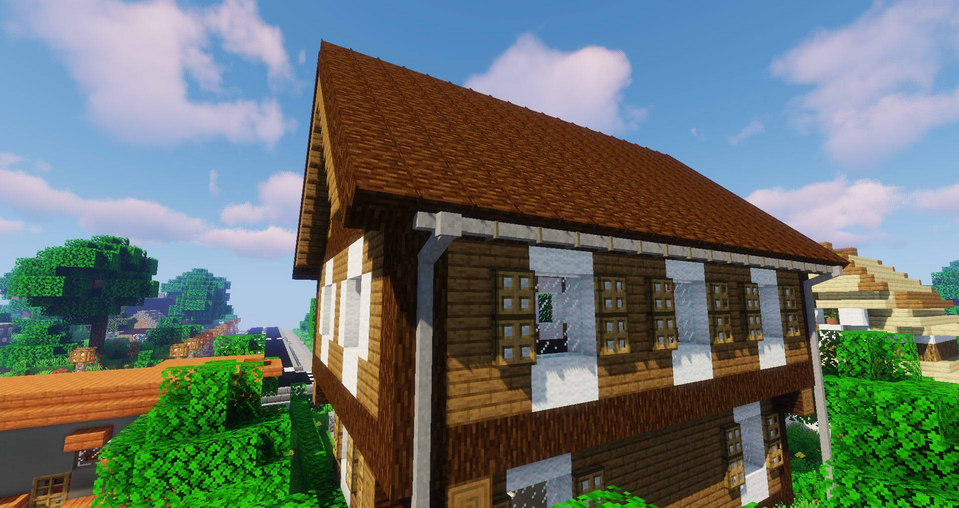 Macaw_s Roofs mod for minecraft 30