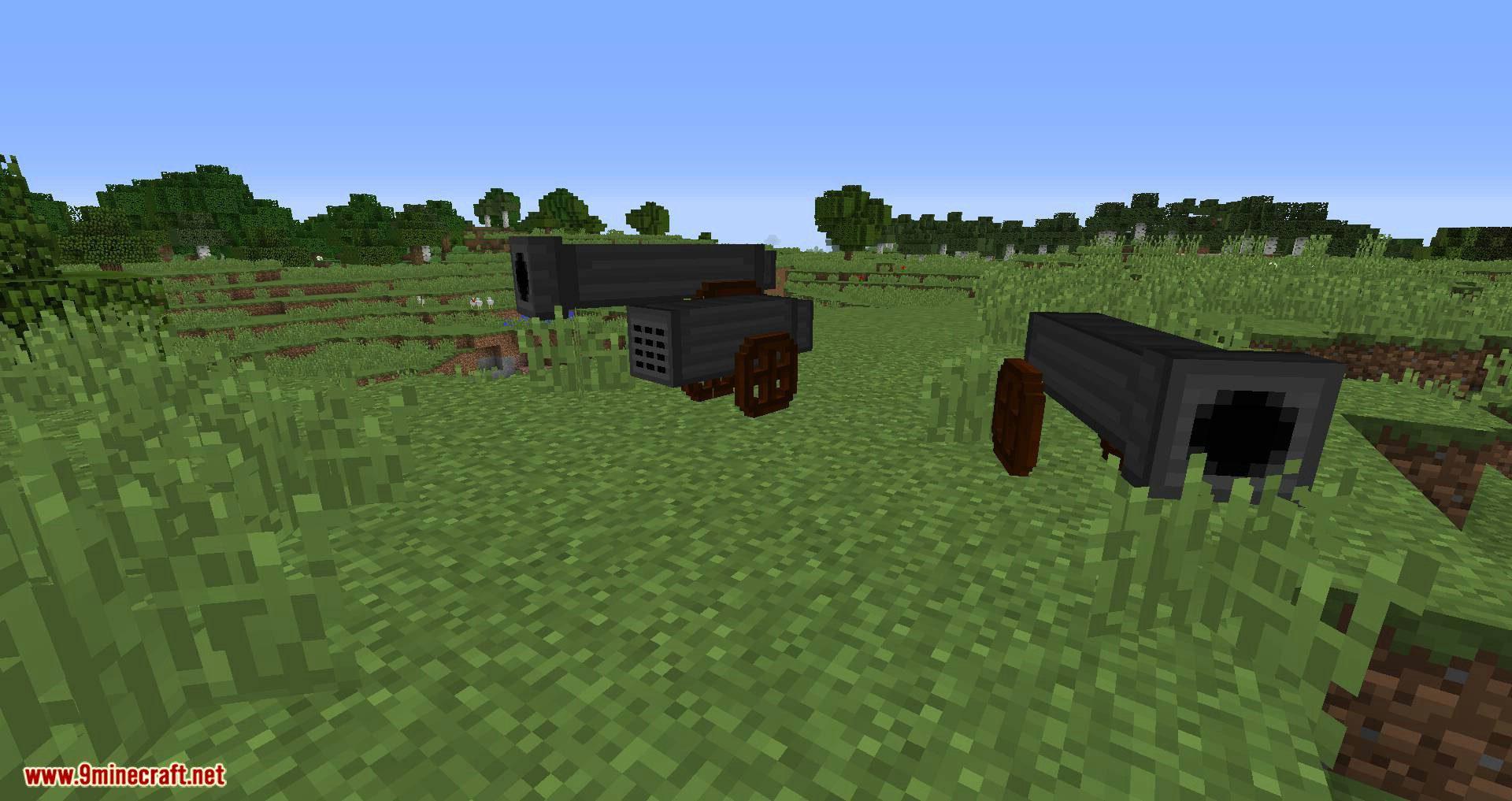 Matchlock Guns mod for minecraft 09