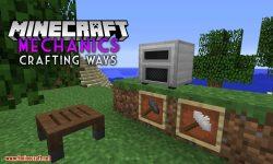 Mechanics Crafting Ways mod for minecraft logo
