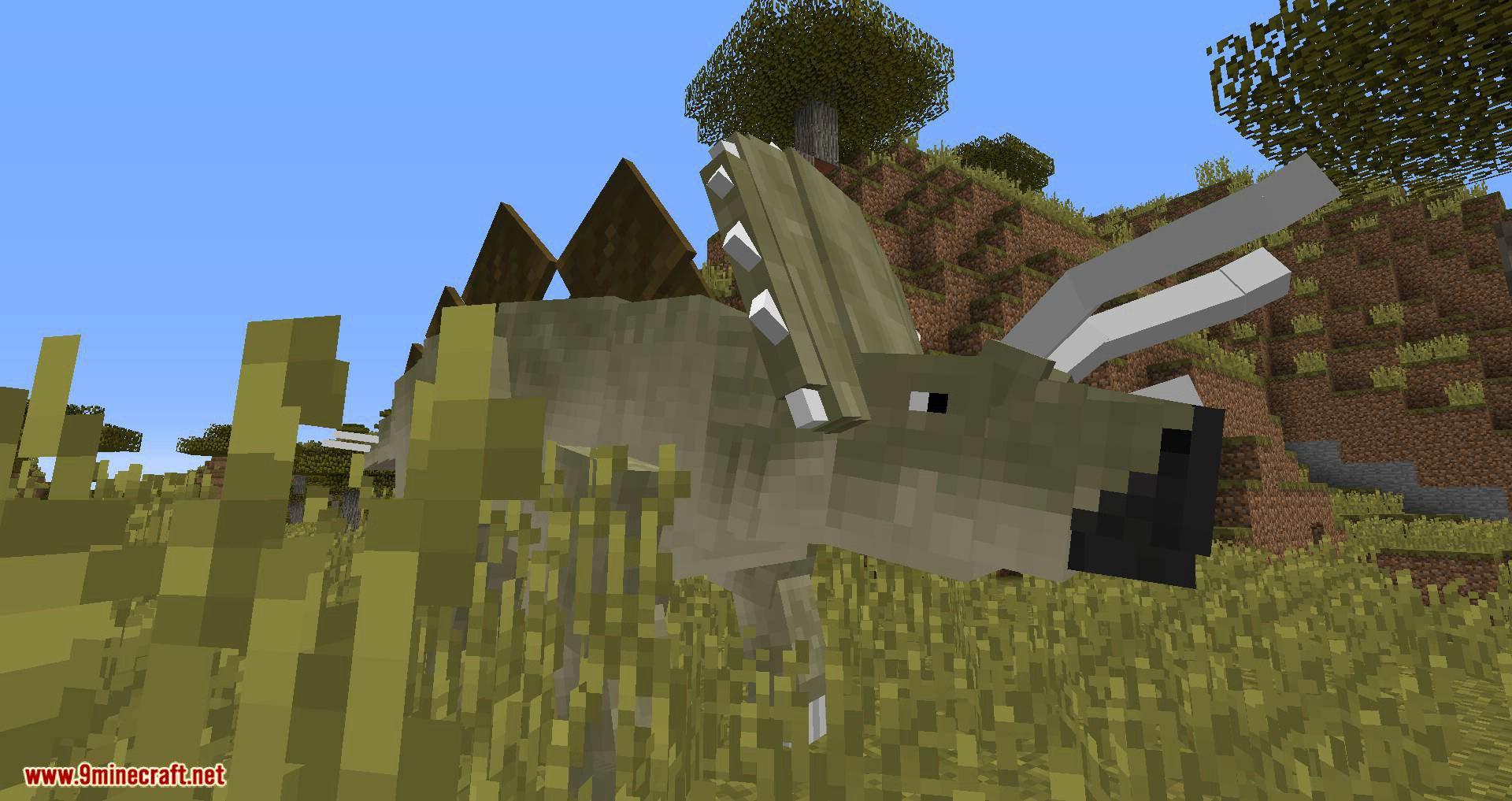 Mine Jurassic mod for minecraft 06