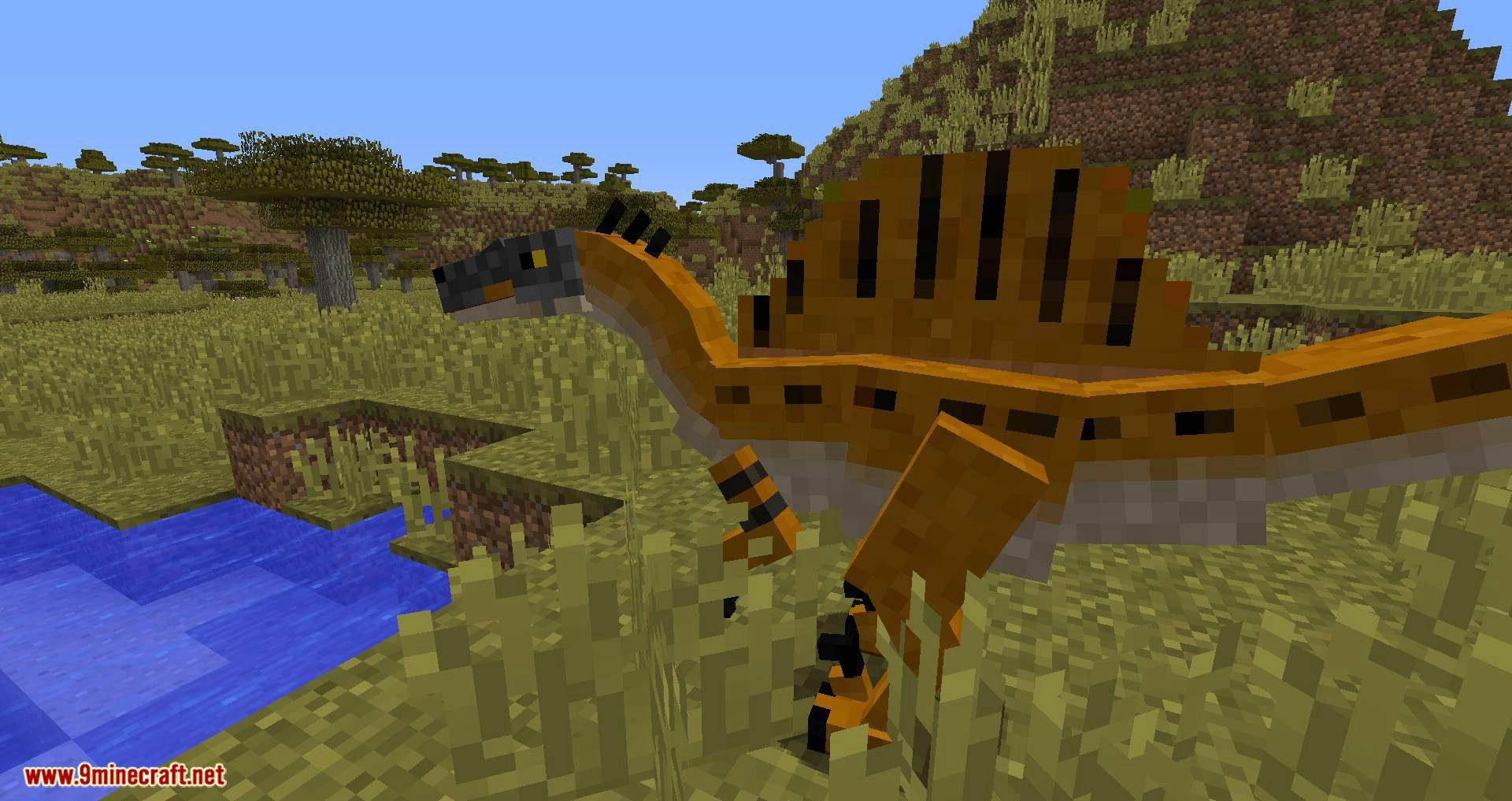 Mine Jurassic mod for minecraft 07
