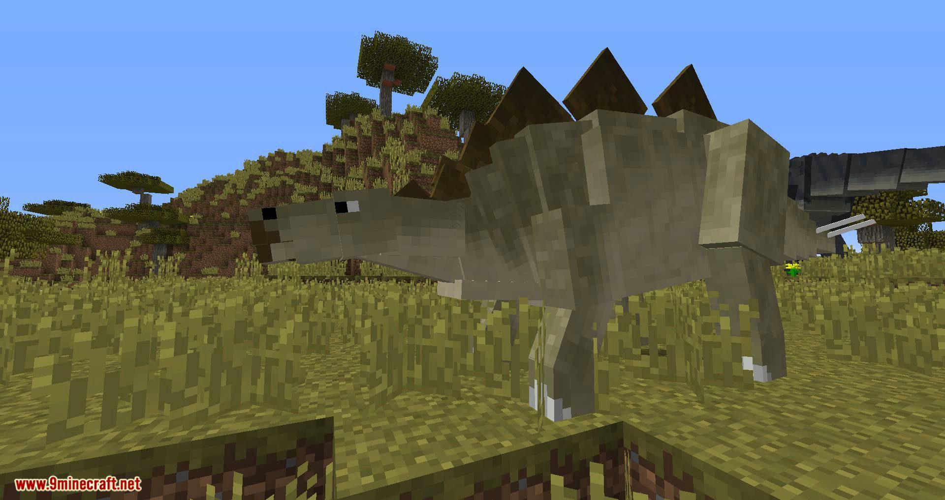 Mine Jurassic mod for minecraft 08