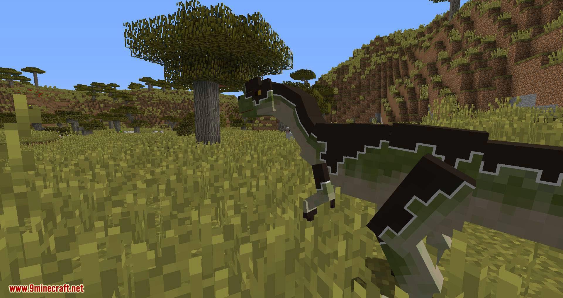 Mine Jurassic mod for minecraft 09