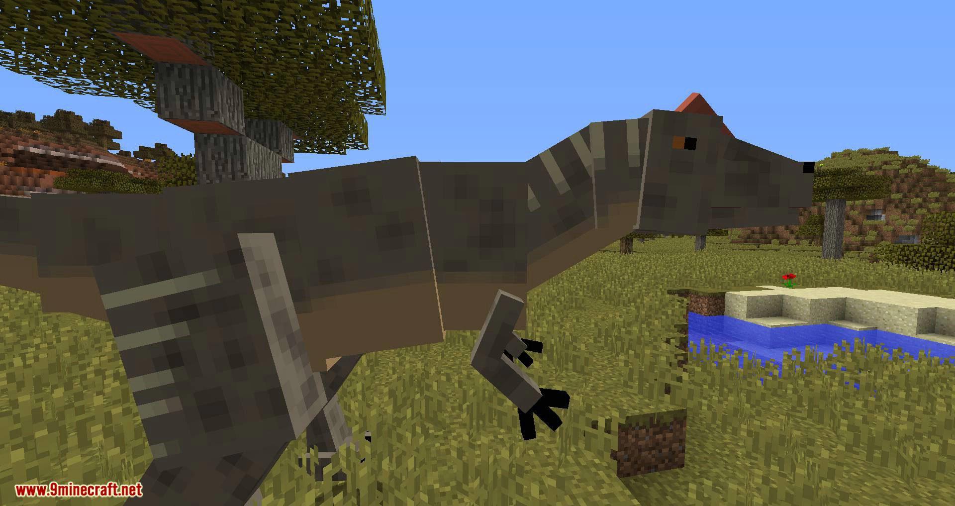 Mine Jurassic mod for minecraft 10