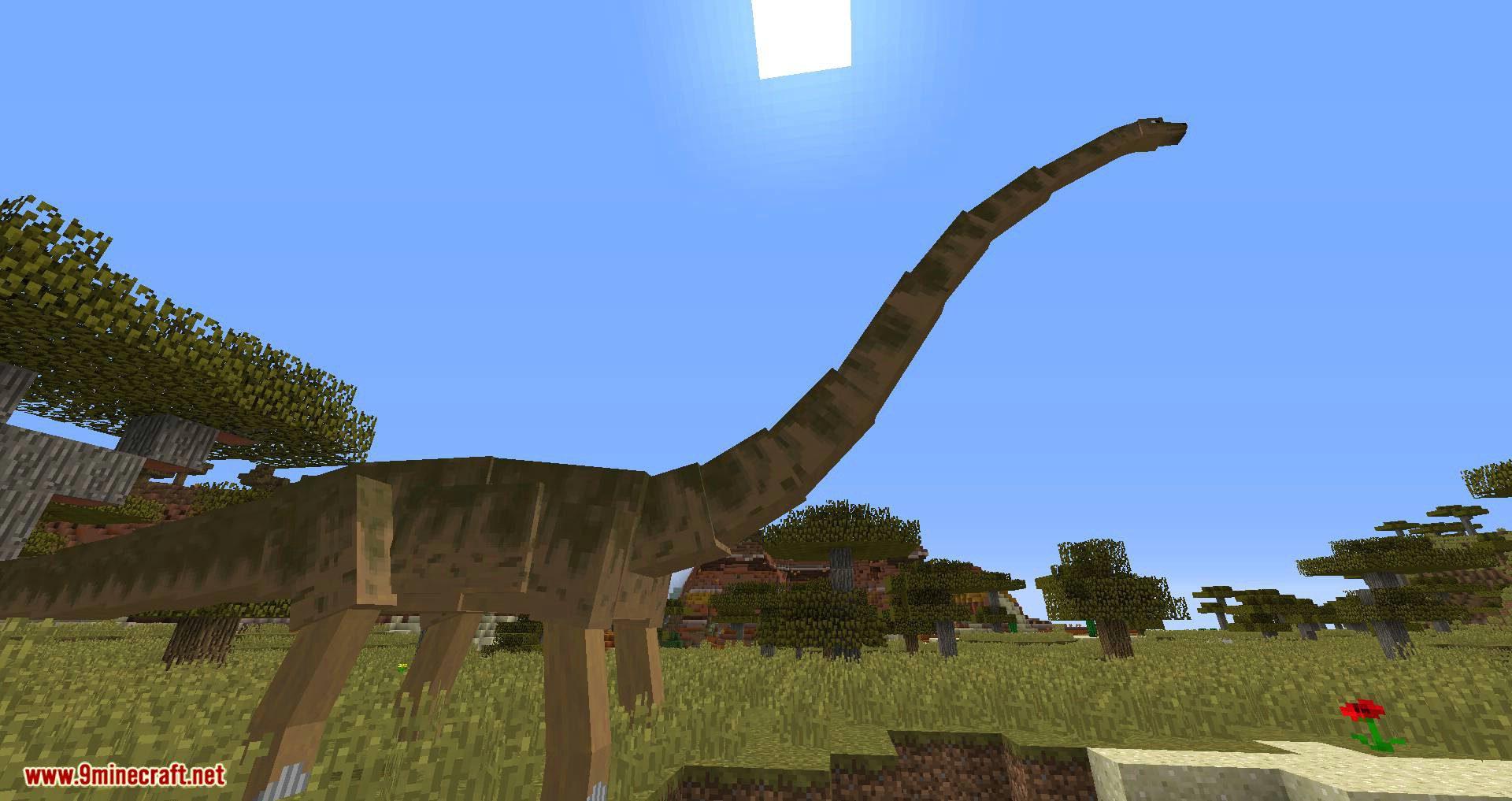 Mine Jurassic mod for minecraft 11