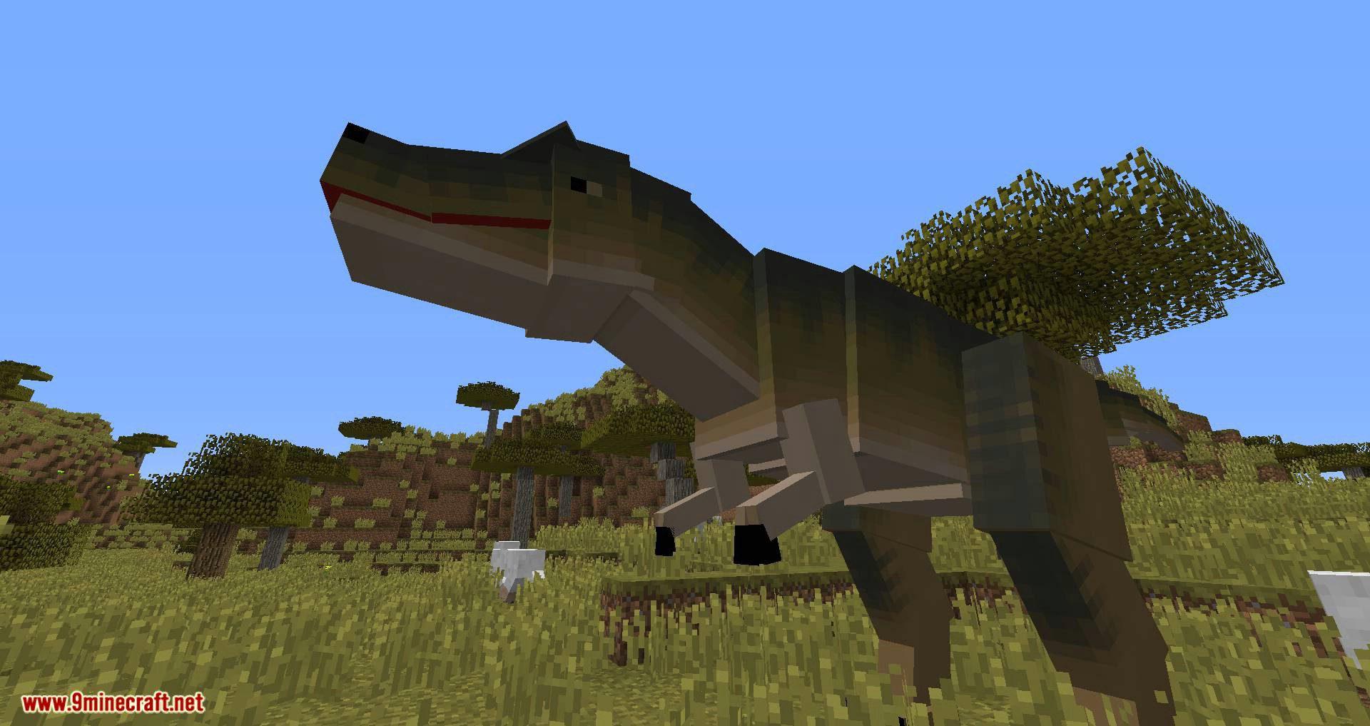 Mine Jurassic mod for minecraft 12