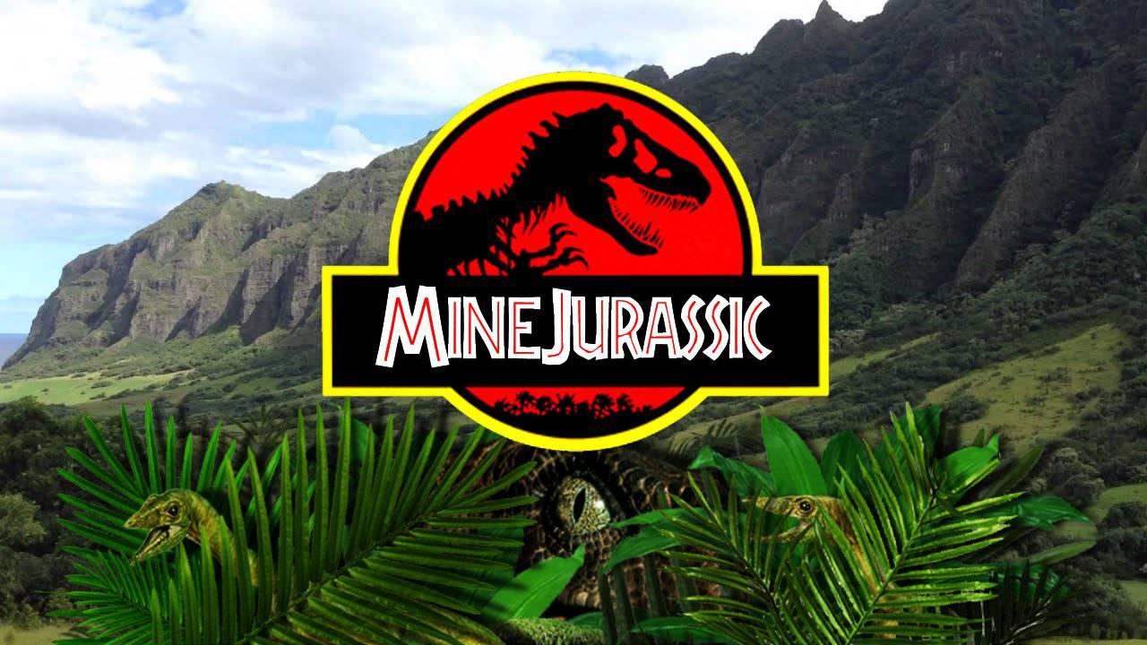 Mine Jurassic mod for minecraft 21