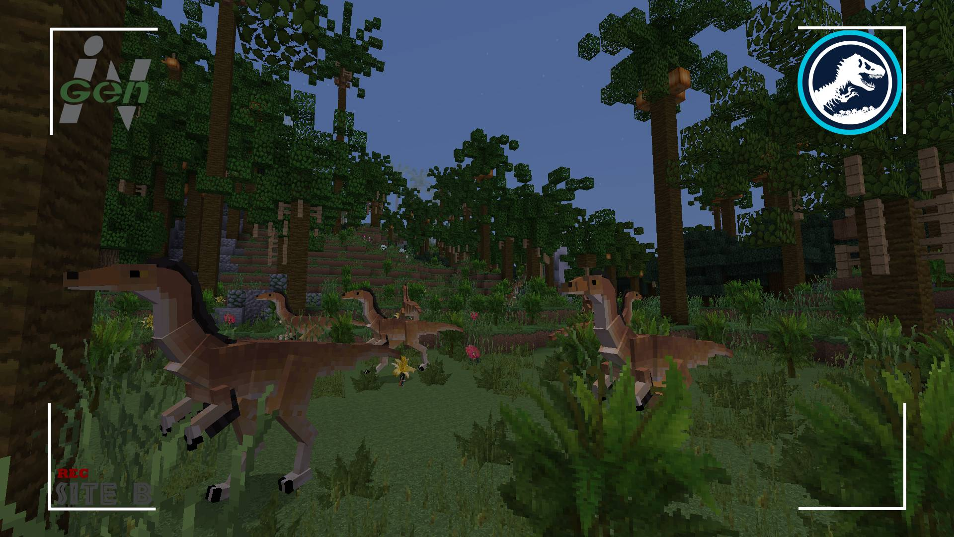 Mine Jurassic mod for minecraft 22