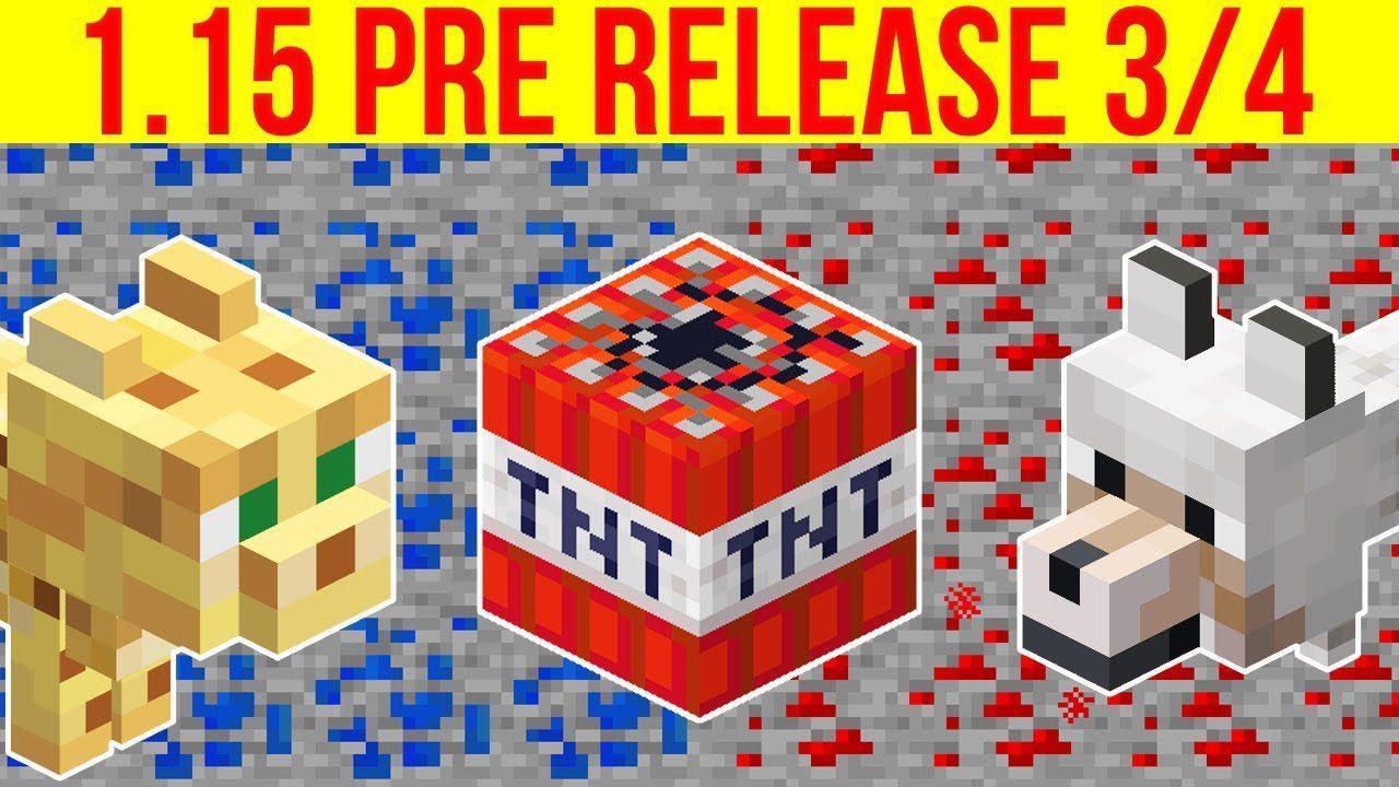 Minecraft 1.15 Pre-Release 5