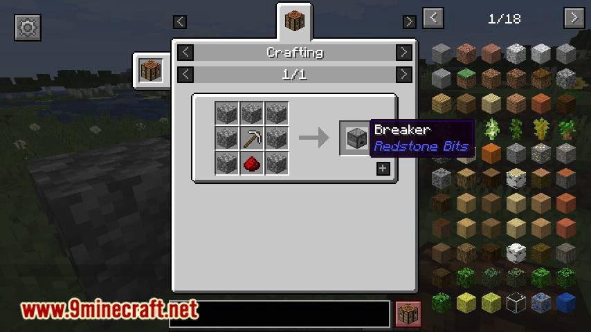 Redstone Bits mod for minecraft 15
