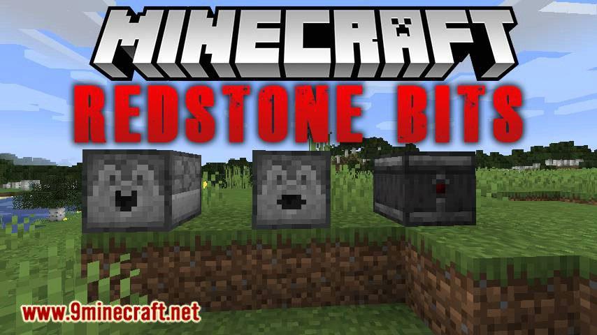 Redstone Bits mod for minecraft logo