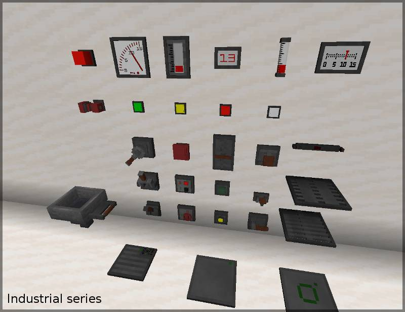 Redstone Gauges and Switches mod for minecraft 22