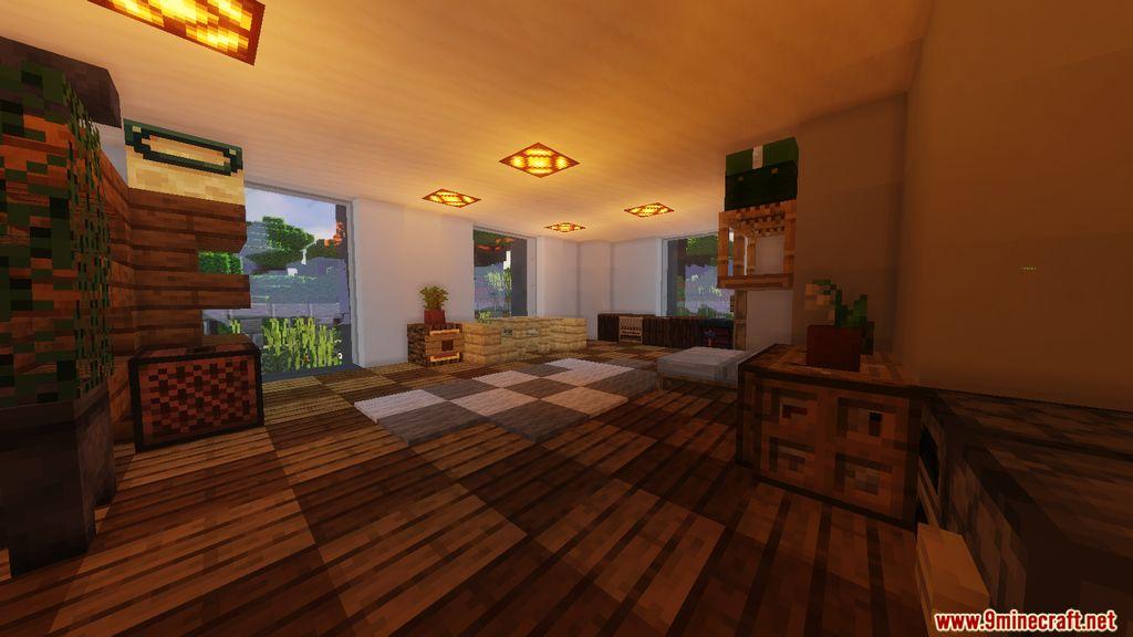 Redstone Smart House Map Screenshots (10)