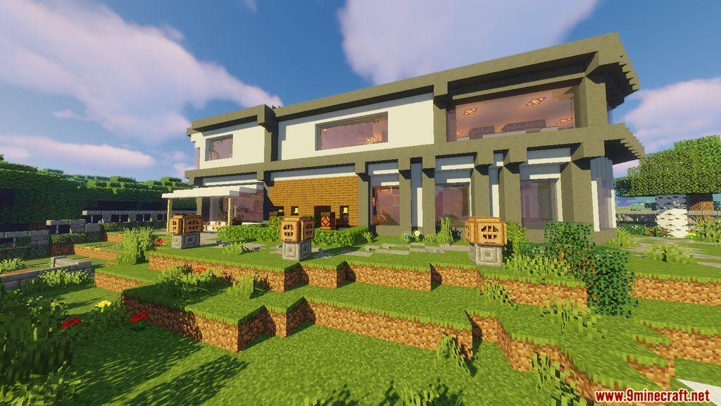 Redstone Smart House Map Screenshots (23)