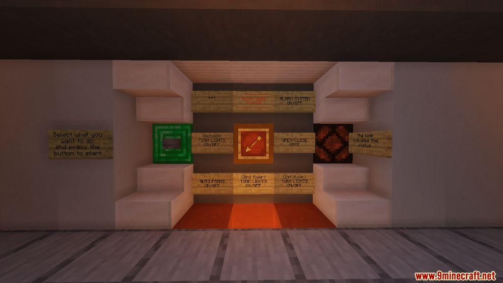 Redstone Smart House Map Screenshots (6)
