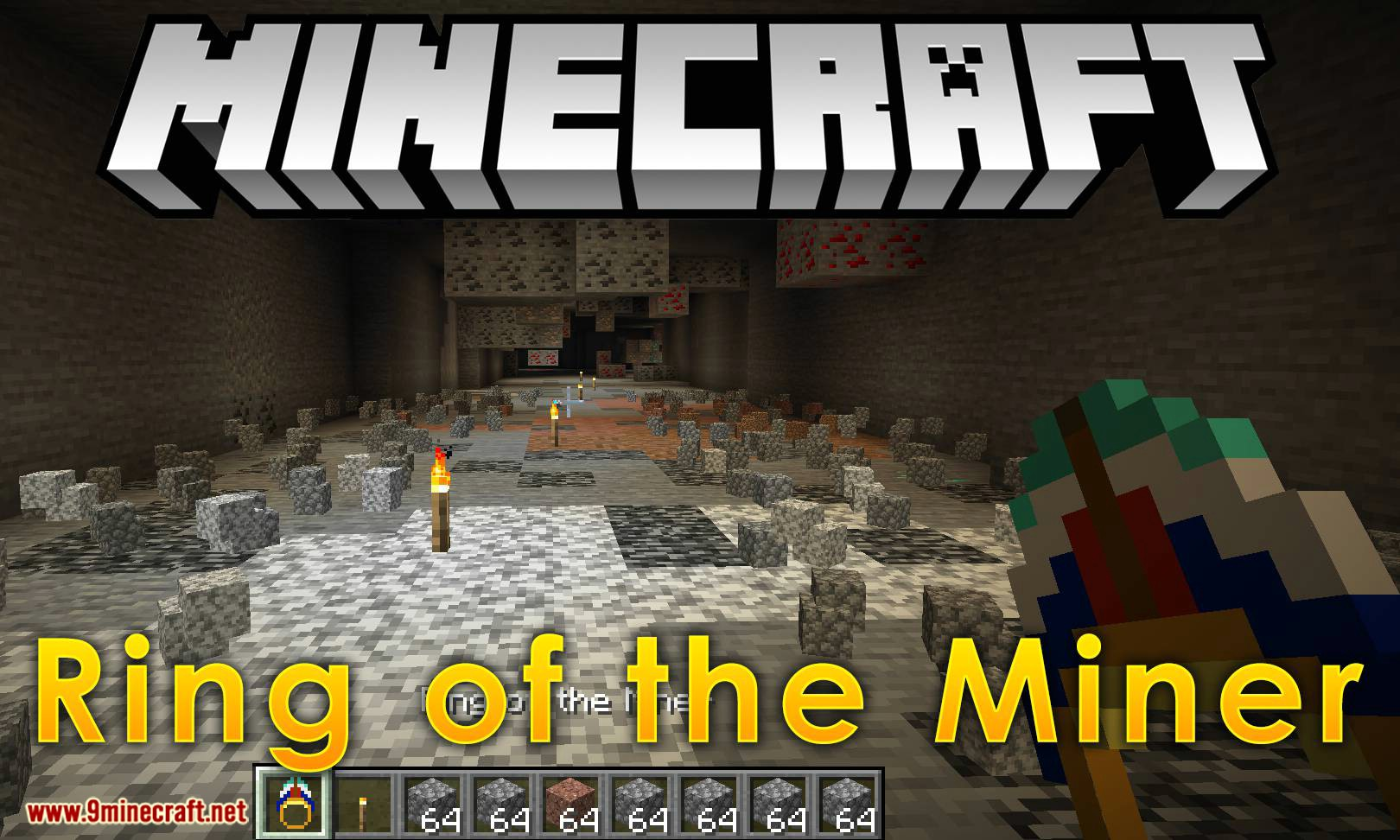Ring of the Miner Mod 1.17/1.16.5