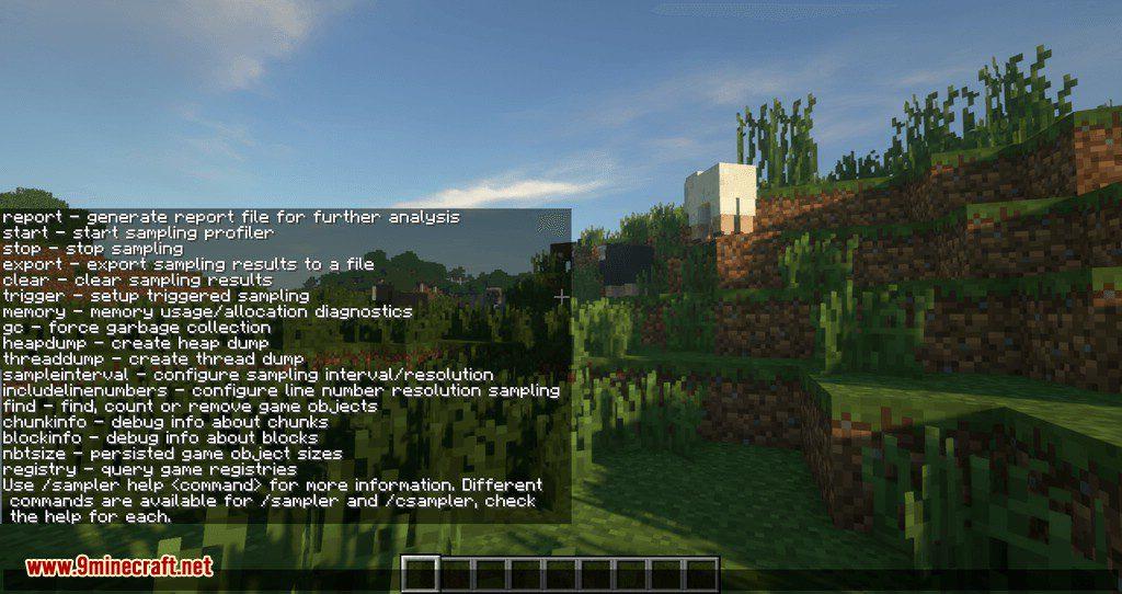 Sampler mod for minecraft 05