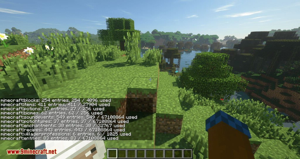 Sampler mod for minecraft 09