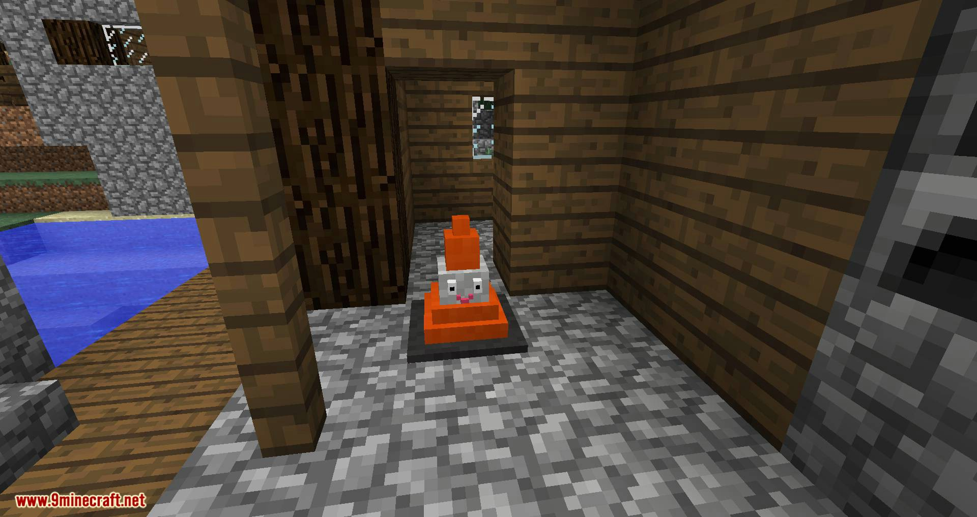 Smiley Traffic Cones mod for minecraft 06