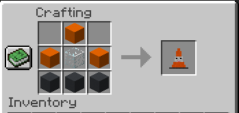 Smiley Traffic Cones mod for minecraft 21