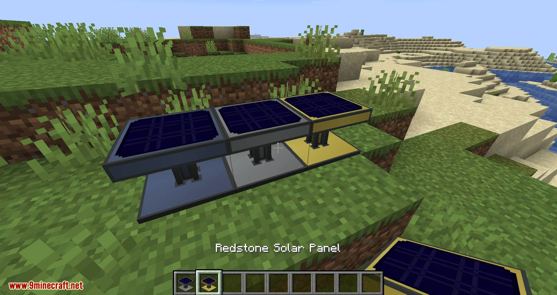 Solar Generation mod for minecraft 05