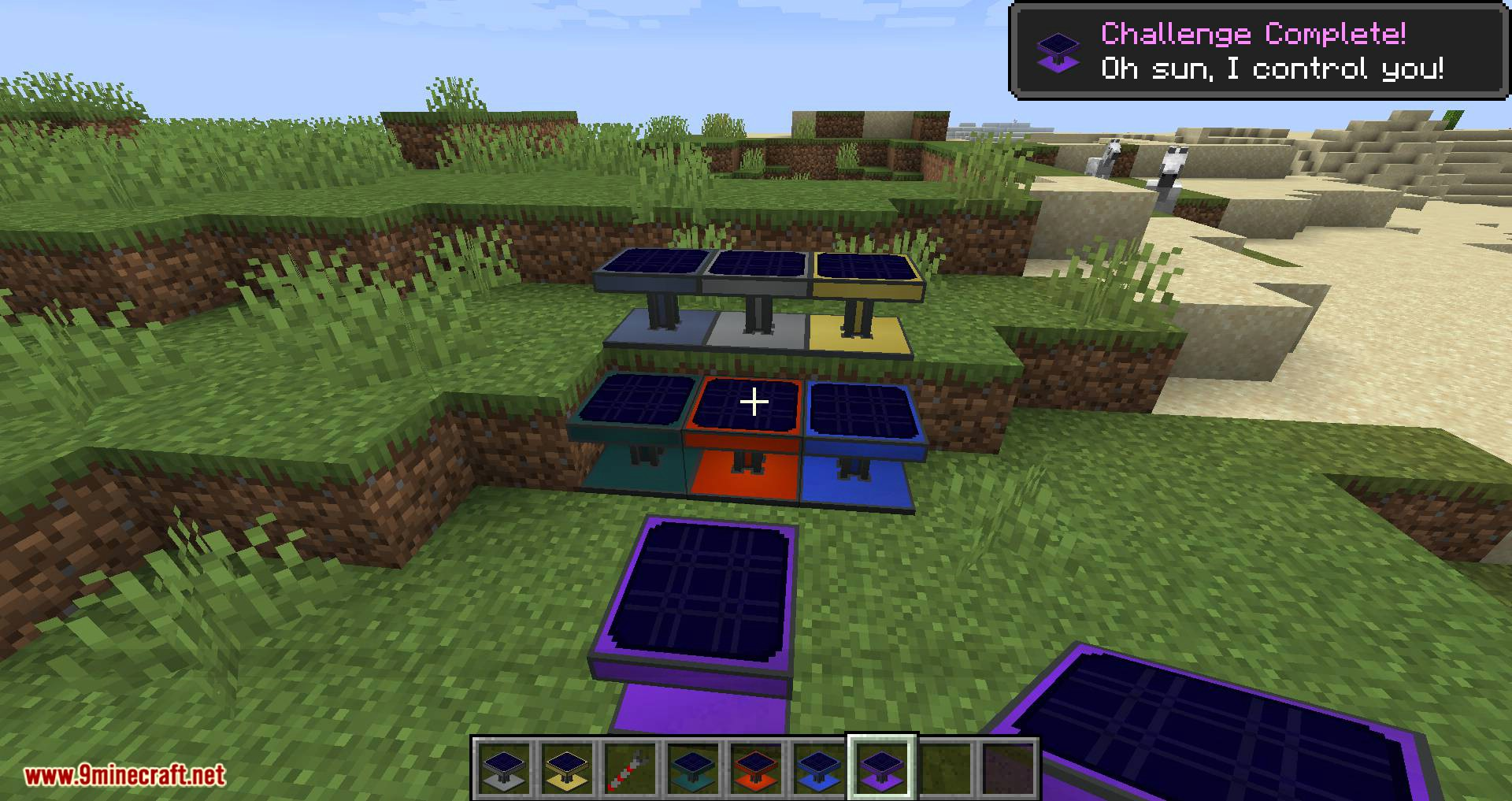 Solar Generation mod for minecraft 08