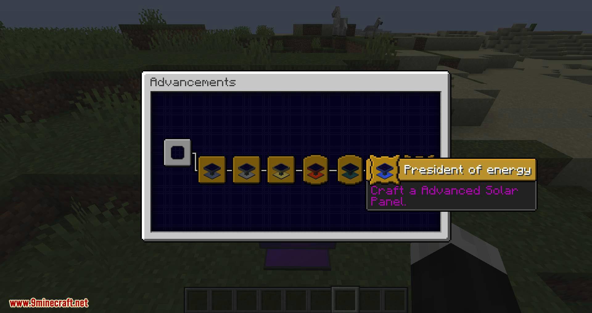 Solar Generation mod for minecraft 09