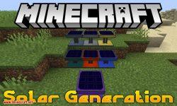 Solar Generation mod for minecraft logo