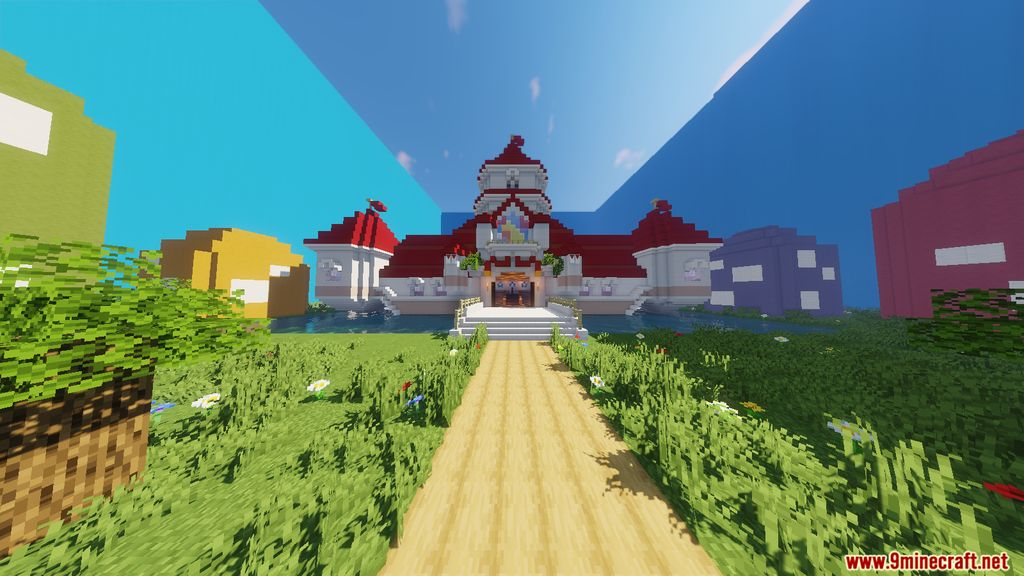 Super Mario Peach's Castle Map Screenshots (1)