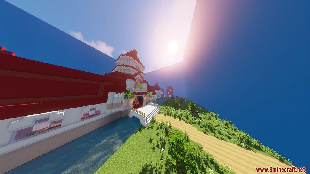 Super Mario Peach's Castle Map Screenshots (10)