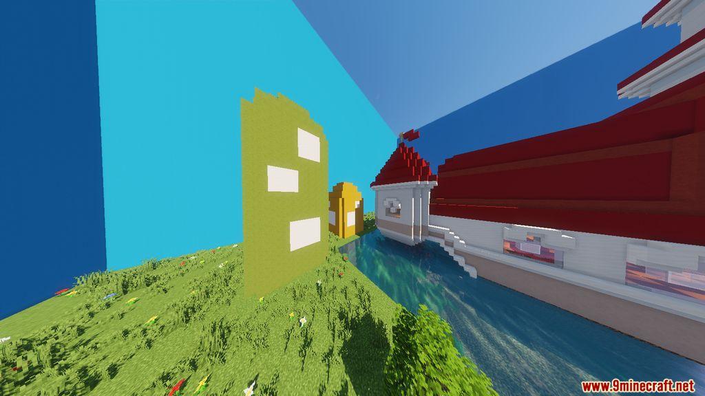 Super Mario Peach's Castle Map Screenshots (2)