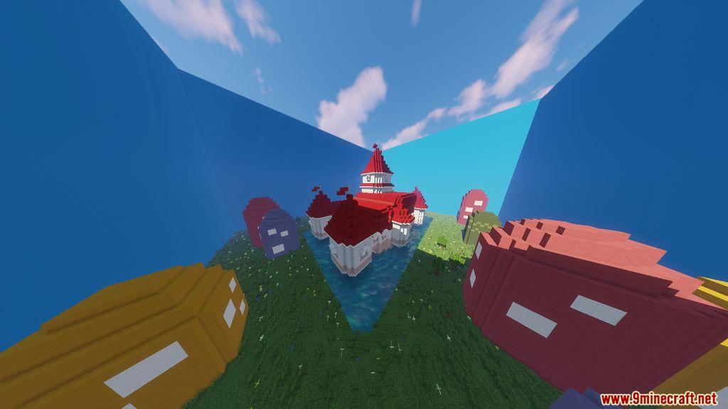 Super Mario Peach's Castle Map Screenshots (5)
