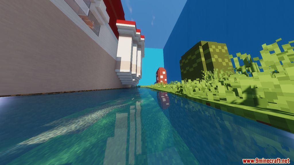 Super Mario Peach's Castle Map Screenshots (6)