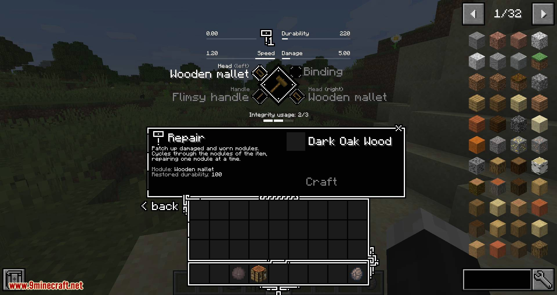 Tetra mod for minecraft 04
