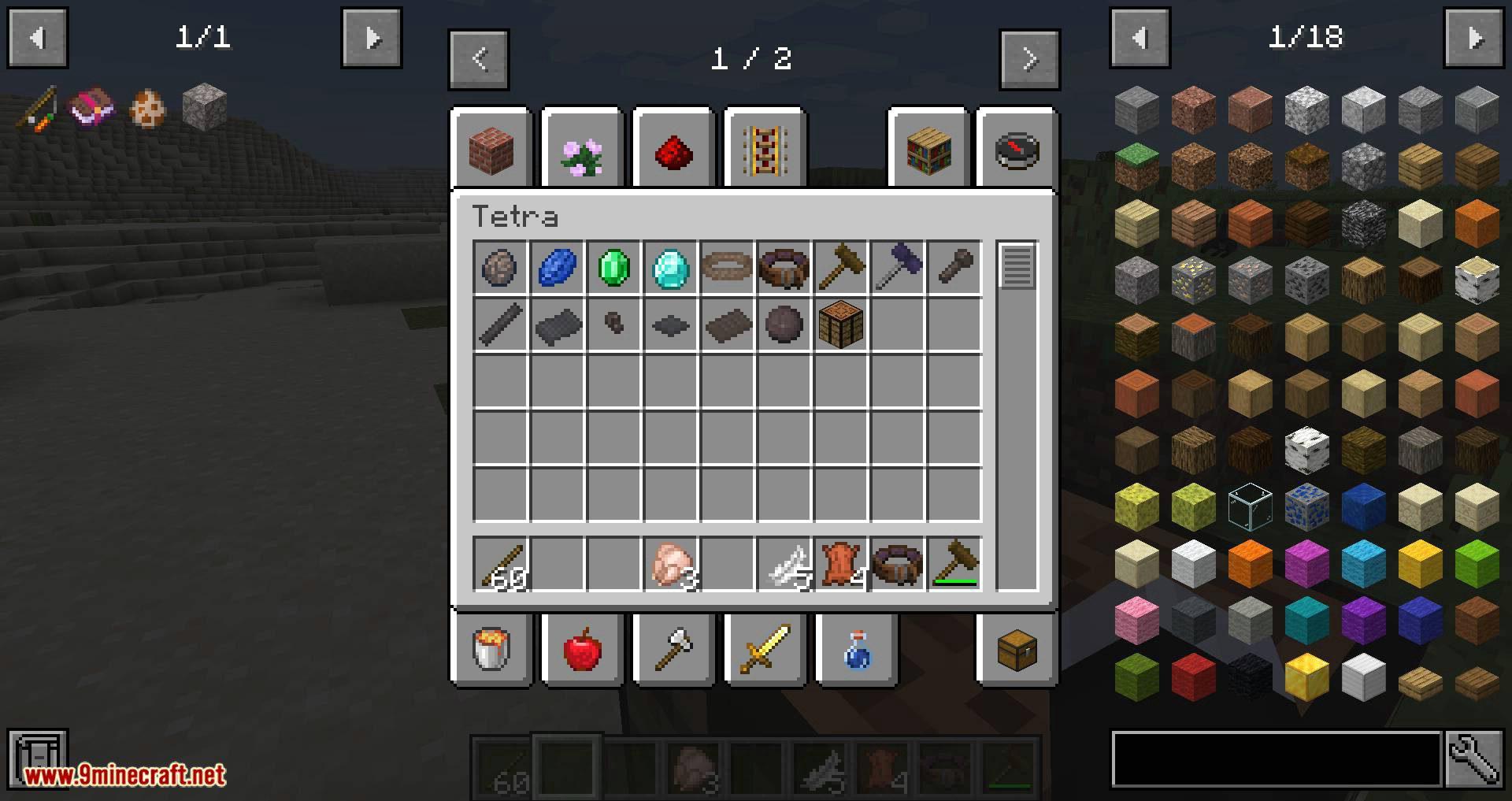 Tetra mod for minecraft 10