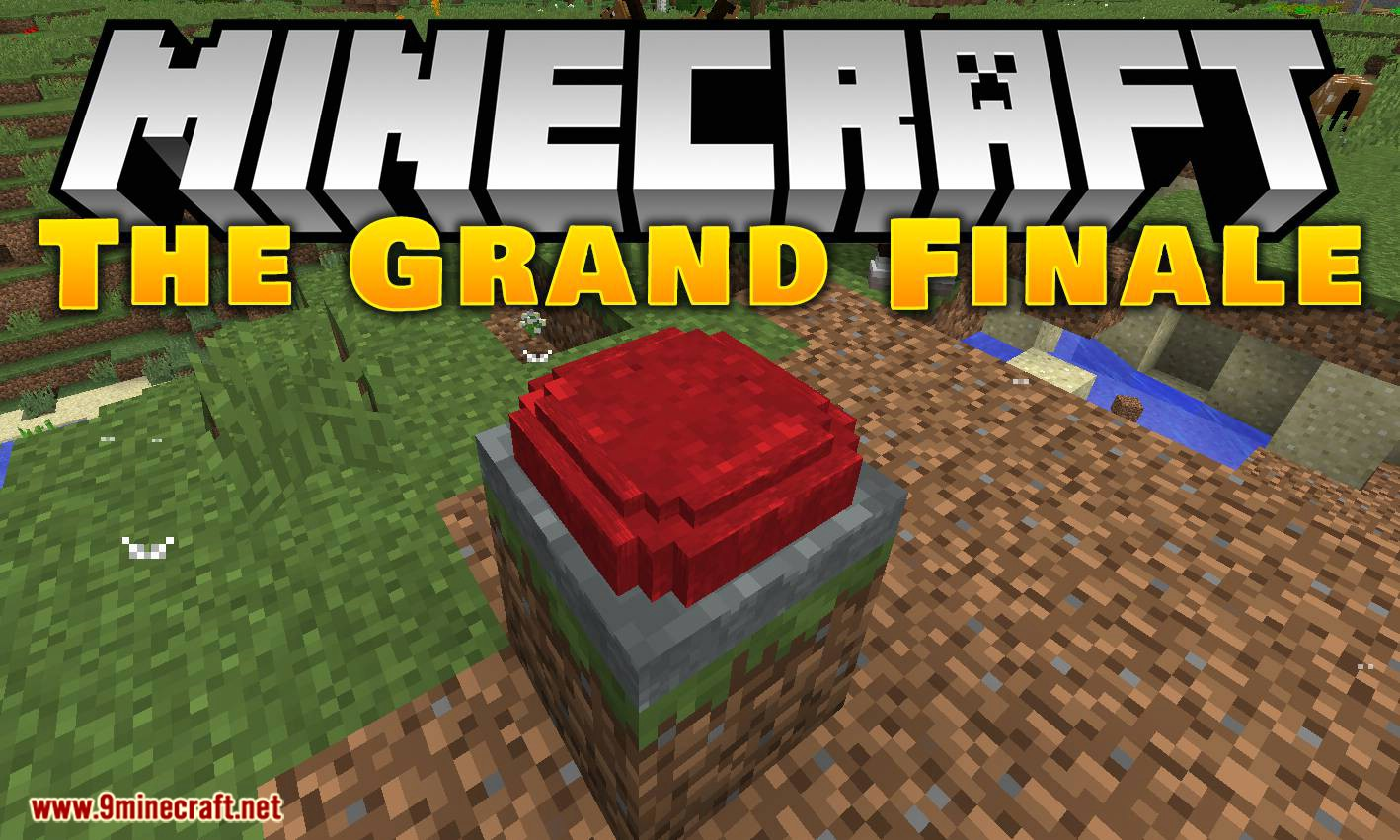The Grand Finale mod for minecraft logo