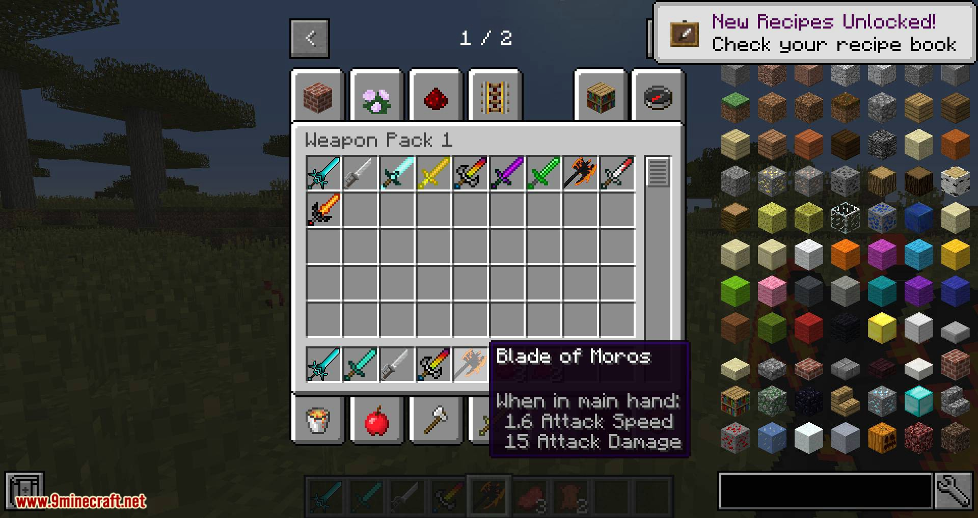 Too Many Weapons Gaia Edition mod for minecraft 07