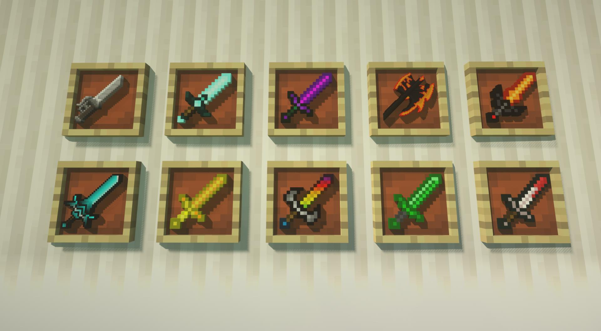 Too Many Weapons Gaia Edition mod for minecraft 21