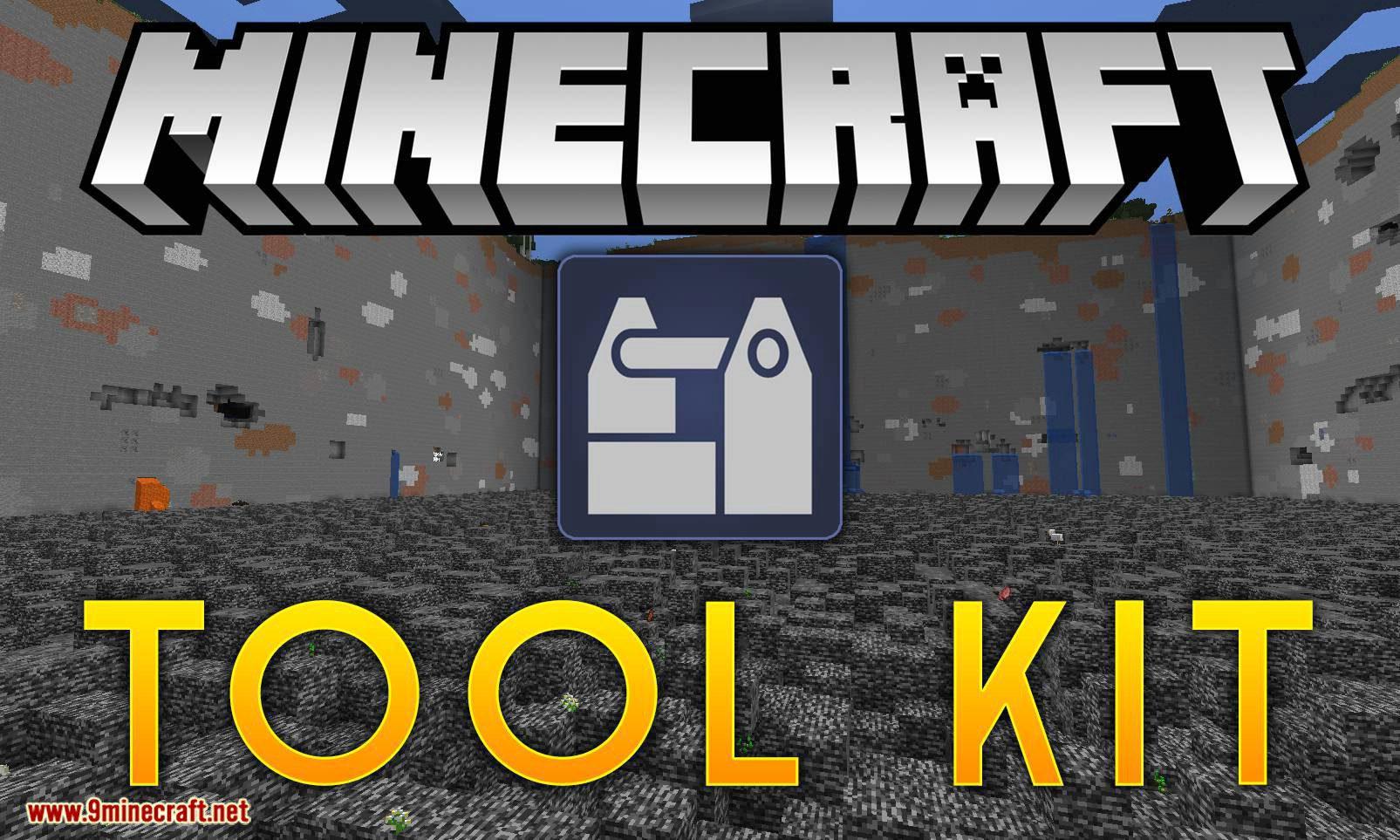 Tool Kit mod for minecraft logo