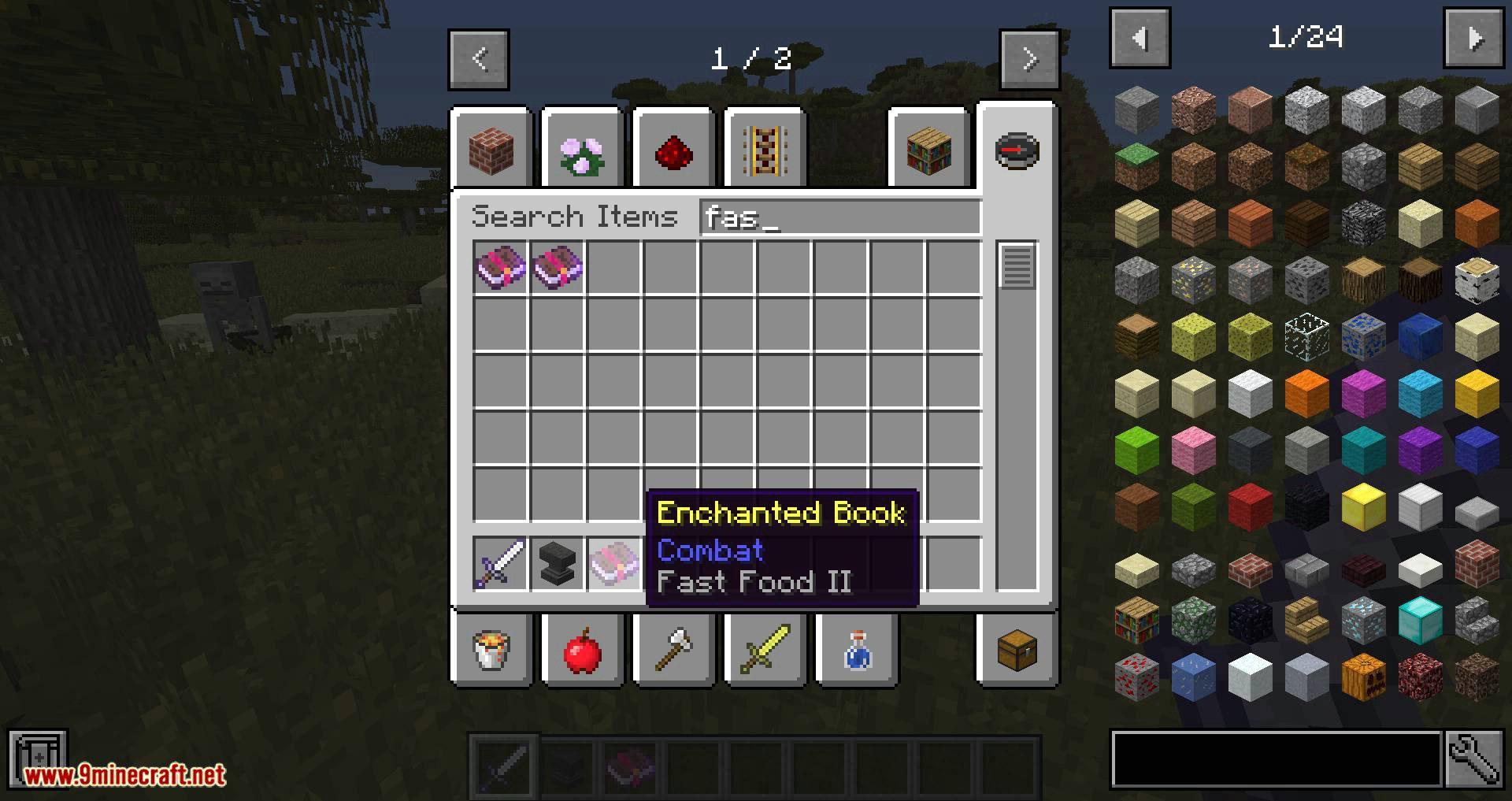 Unique Enchantments mod for minecraft 04