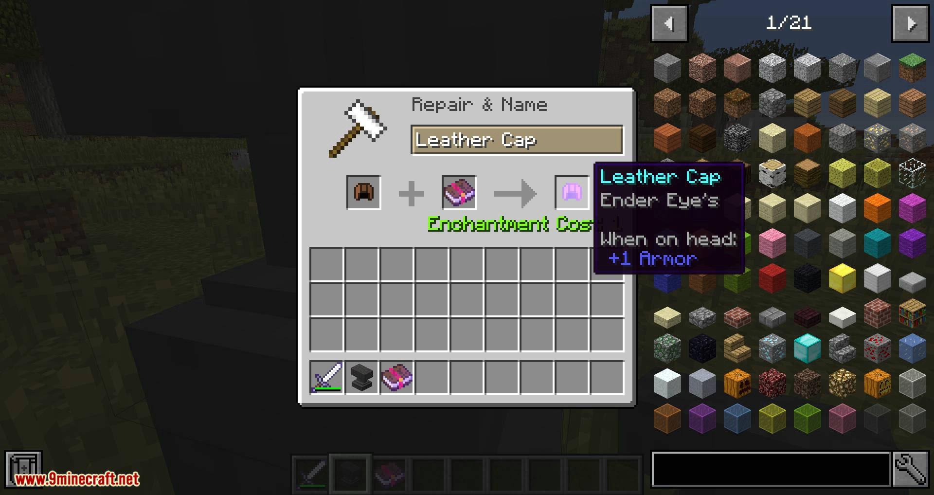 Unique Enchantments mod for minecraft 07