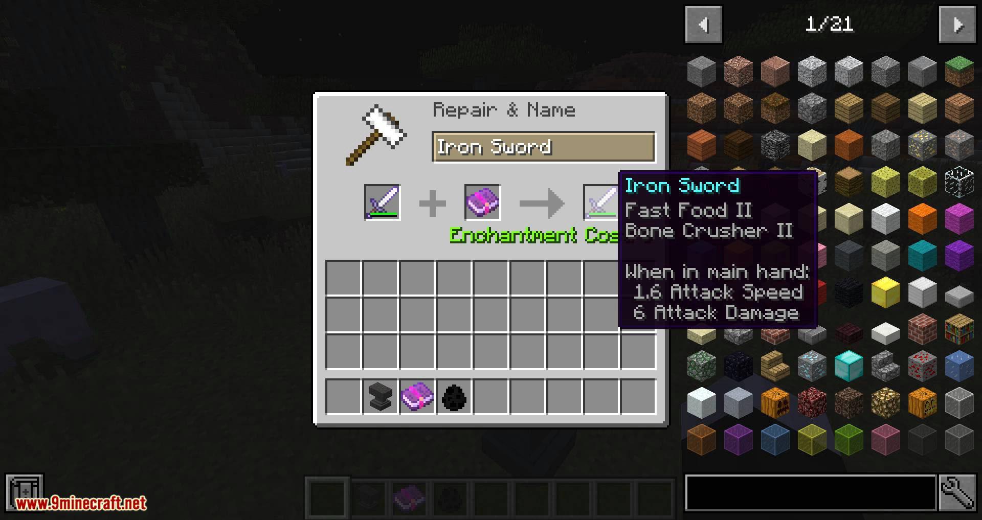 Unique Enchantments mod for minecraft 10