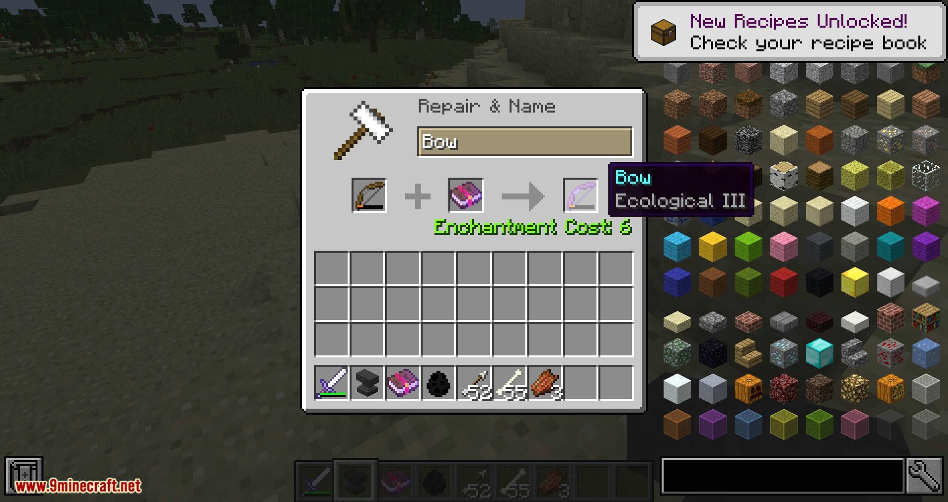 Unique Enchantments mod for minecraft 12