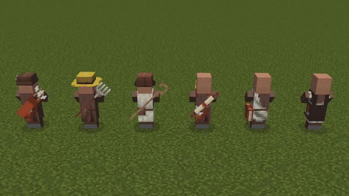 Villagers Enhanced Resource Pack Screenshots 1