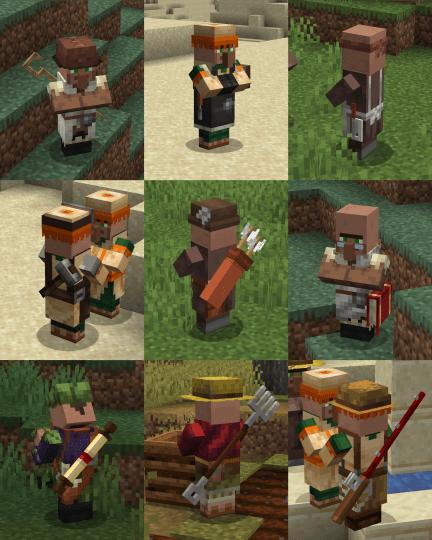 Villagers Enhanced Resource Pack Screenshots 3